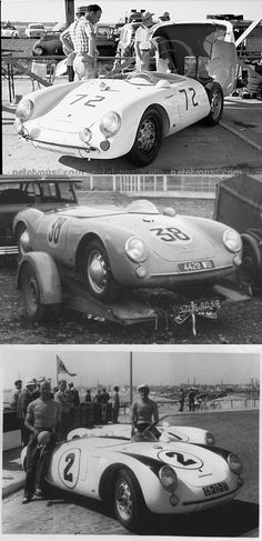 Porsche 550 Spyder Porsche 550, Porsche Cars, Sports Car Racing, Race Cars, My Dream Car, Dream Cars, Ferdinand Porsche, Vintage Porsche, Vintage Race Car