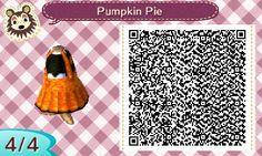 "(link) toottown: ""Pumpkin Pie Orange overalls with a little pumpkin on the top! More Halloween designs here """