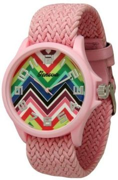 http://interiordemocrats.org/geneva-braided-fabric-rainbow-chevron-face-watchpink-p-5804.html