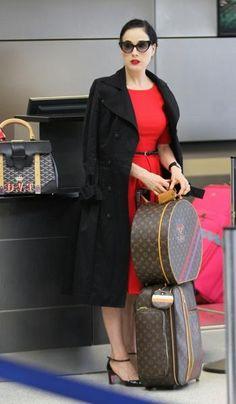 Dita Von Teese,  8.2012