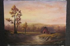 Paint with Kevin Hill - Sunset Barn