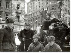 The Siege of Budapest November 1945 the only major ghetto to survive World War II. World History, World War Ii, Ww2 Facts, Story Of The World, Red Army, Soviet Union, Soviet Army, Japan, Wwii