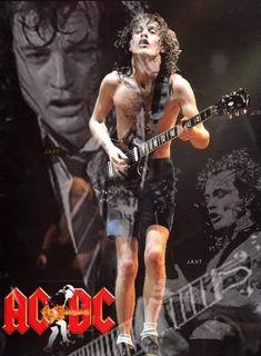 Pop Rock, Rock N Roll, I Love Music, Good Music, Hard Rock, Malcolm Young, Ac Dc Rock, Rock And Roll History, Bon Scott