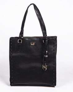 8fe58dee3b BCBG PARIS Handbag Stuffed Bag Black