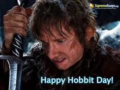 September 22nd is the Birthday of Bilbo and Frodo Baggins, two characters from J.R.R. Tolkiens popular Middle Earth Cycle books (The Hobbit and Lord Of The Rings respectively) in which Hobbits, typically between two and four feet tall and nothing like your usual hero, accomplish great feats and amazing acts of courage.  #hobbitday #lordofthering #frodo