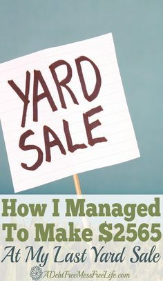 Want your next yard sale to super successful? Learn the strategies that work from displays, to advertisings and all the tips and ideas you can implement for your next yard sale so you too can bring in big money.