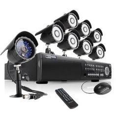 New Arrival! Zmodo 16 Channel All D1 High Profile HDMI SDVR(Super Digital Vidoe Recorder) Security Surveillance Camera System With 8 Sony CCD Sensor CCTV Surveillance Cameras 2TB Hard Drive by Zmodo. $849.99. Overview The KDE6-NARQZ8ZN-2T DVR camera system includes an 16 channel security SDVR with 2TB HD and 8 CCD night vision outdoor cameras ,offering everything you need to have your surveillance system up and running in your home or businesses quickly and easily. ...
