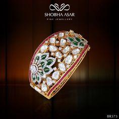 Shobha Asar Fine Jewellery (=) Diamond Bracelets, Crystal Bracelets, Gold Bangles, Diamond Jewelry, Bangle Bracelets, Gold Jewelry, Fine Jewelry, Ruby Bracelet, Necklaces