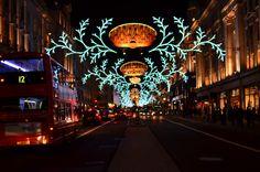 Christmas in London-Regents Street
