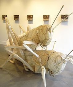 """Cyrus Tilton's """"The Cycle"""" installation   """"Lovers"""" sculpture  vessel-gallery.com  Represented by Lonnie Lee  info@vessel-gallery.com"""