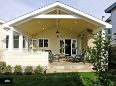 Awesome Covered Patio Designs