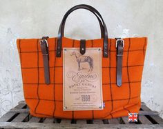 BF Equine Utility Orange by Bravura on Etsy, $220.00