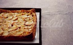 Яблочная пицца