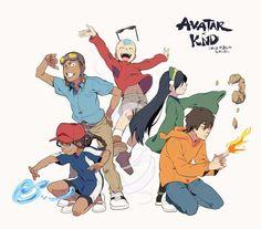 Avatar Codename Kids next door