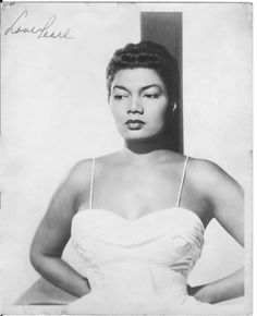 Pearl Bailey signed Photograph C. 1940's $195