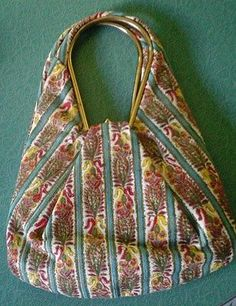Vintage 1950's 1960's Ingber Baroque Tapestry Purse