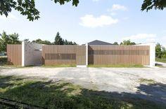 Extension du centre culturel de l'entre deux parcs, Lesigny, SARL Atelier 208 Architectes - Realisation