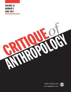 Critical Perspectives on Multispecies Ethnography — A Special Issue of Critique of Anthropology Anthropologie, Identity, Memories, History, Theory, Journals, Content, Cover, Historia