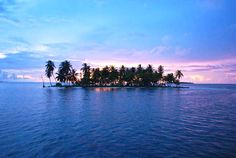 The San Blas Islands of Panama is an archipelago comprising approximately 378 islands and cays, of which only 49 are inhabited. They lie off the north coast of the Isthmus of Panama, east of the Panama Canal.