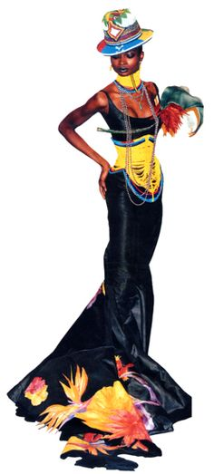 1997 - Galliano for Dior Couture show - Debra Shaw