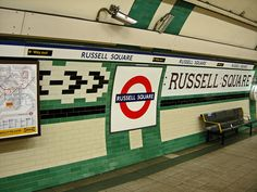 Russell Square Tube Station ♥