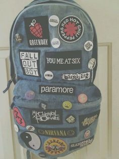 I need this backpack! But where is Bring Me The Horizon and Of Mice And Men and so many others