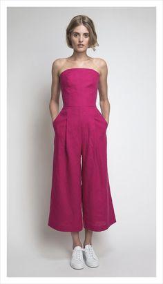 lawn jumpsuit (linen)