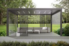 Élvezzük ki a kertünk nyújtotta szabadságot! Egy modern pergola esetében olyan extra funkciók érhetők el, mint beépített LED világítás, hangszórók, fűtő panel. Ezek segítségével egy valódi oázist alakíthatunk ki saját kertünkben, mely nyáron és télen egyaránt képes biztosítani a megfelelő komfortot. Outdoor Pergola, Outdoor Decor, Pergola Designs, Best Wordpress Themes, Beautiful Homes, Outdoor Furniture Sets, Home Improvement, Backyard, Modern