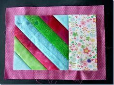 Mug rug tutorial Mini Quilts, Small Quilts, Easy Quilts, Quilting Tutorials, Quilting Projects, Sewing Projects, Sewing Crafts, Quilting Tips, Mug Rug Patterns