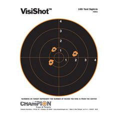 """Champion Traps & Targets VisiColor Target Bullseye 10 Pack for a great shooting experience? For the best in interactive targets"""" the experts at Champion(R) have all your needs covered. Indoor Range, Shooting Targets, Shooting Accessories, Champion, Stuff To Buy, Ebay, Yard, Shooting Range, Survival Kits"""