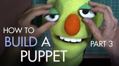 How to Build a Hand and Rod Puppet Part 3 - Final Assembly & Building Ch...