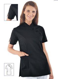 CASACCA SAIGON estetica benessere parrucchiere - nero Chef Jackets, Fashion, Moda, Fashion Styles, Fashion Illustrations, Fashion Models