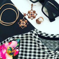 Sterling Silver Jewelry, Gems, Rose Gold, My Style, Instagram Posts, Fashion, Moda, Fashion Styles, Rhinestones