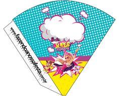 Cone Guloseimas Barbie Super Princesa