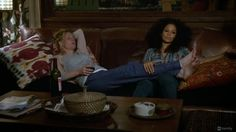The Fosters, The Fosters Blog, Stef and Lena relaxing, The Fosters Episode 7, The Fosters episode 7 the fallout, TV Worth Blogging About: We're So Sorry Callie (Fosters Episode 7)