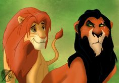 Simba and Scar by Kuurasusi on DeviantArt