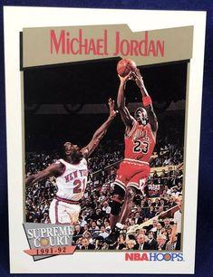 32e87e447d1 Details about MICHAEL JORDAN 1991 NBA Hoops  455 ~ Chicago Bulls. eBay. Michael  Jordan Basketball CardsChicago BullsAll StarNbaJordansStarConverse