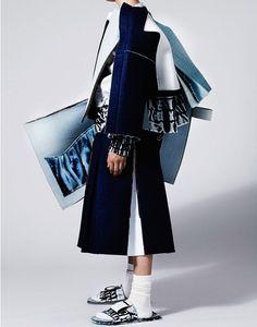 Artfully Deconstructed Menswear : Ximon Lee