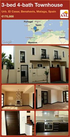 3-bed 4-bath Townhouse in Urb. El Casar, Benahavis, Malaga, Spain ►€175,000 #PropertyForSaleInSpain