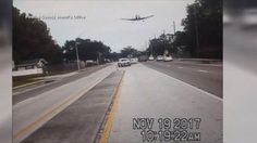 Caught on camera: Small plane crashes onto Florida road Video