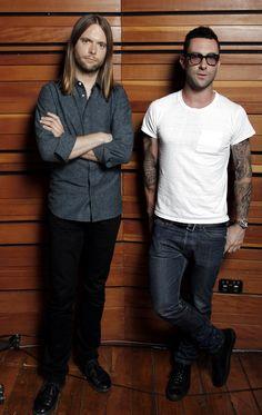 James Valentine & Adam Levine