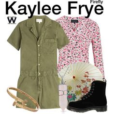 Inspired by Jewel Staite as Kaylee Frye on Firefly.