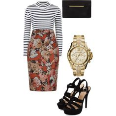 A fashion look from February 2015 featuring Topshop sweaters, Givenchy skirts and BCBGMAXAZRIA clutches. Browse and shop related looks.