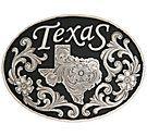 Texas belt buckle
