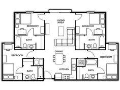 Marietta Housing, Kennesaw State University,  Housing | U Pointe Kennesaw