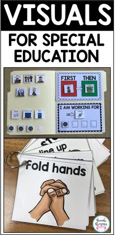 Behavior Management Boards for Special Education StudentsFirst/ Then First Then First/ Then Editable Cards for you to personalize for your students. Type directly into PowerPoint and insert your own picture.I& Working For Working for Reinforcement Kindergarten Special Education, Special Education Teacher, Special Education Activities, Autism Classroom, Future Classroom, Preschool Classroom Setup, Life Skills Classroom, Classroom Ideas, Educational Websites