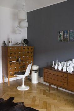 Decorando en gris oscuro ratón rata topo ceniza y cía Colores para paredes interiores Interiores grises Colores de interiores