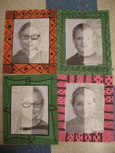 Jamestown Elementary Art Blog: 4th grade Mary Cassatt portraits