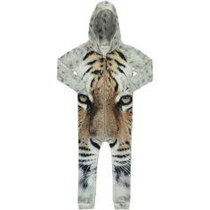 popupshop hoodie suit - tiger - available at www.halfpintshop.com