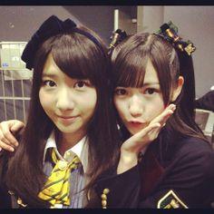 Yukirin and Mayuyu #AKB48